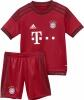 adidas FC Bayern Home Mini Kit Kinder Trikotset
