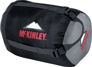 McKinley Kompressionspacksack Professional Groesse 1 38x20 cm Farbe 900 charcoal hellgrau 