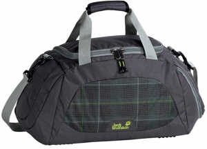 Jack Wolfskin Sporttasche Action Bag 35 Farbe 7213 black fade checks 
