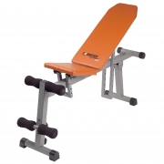 Energetics Hantelbank Light Bench 680 (Farbe - 901 GRAU/ORANGE)