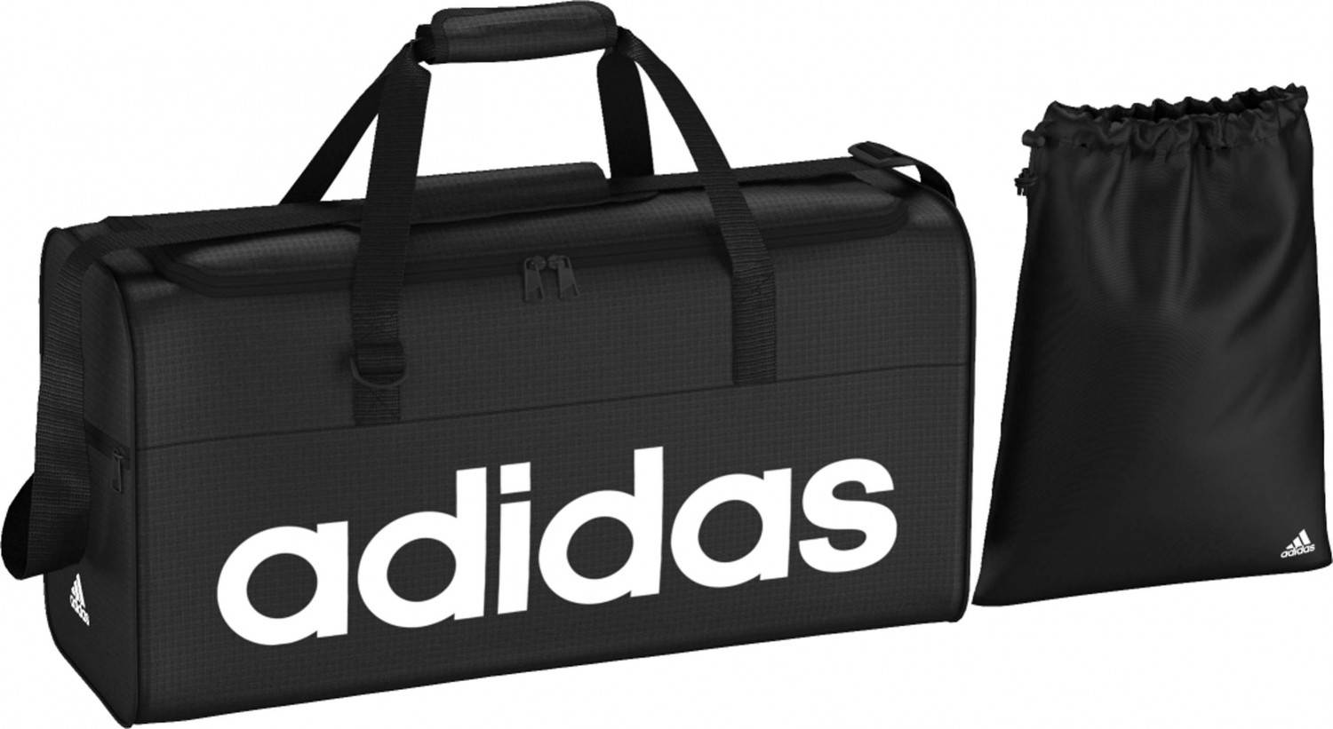 adidas Linear Performance Teambag M Tasche (Farbe: black/black/white)