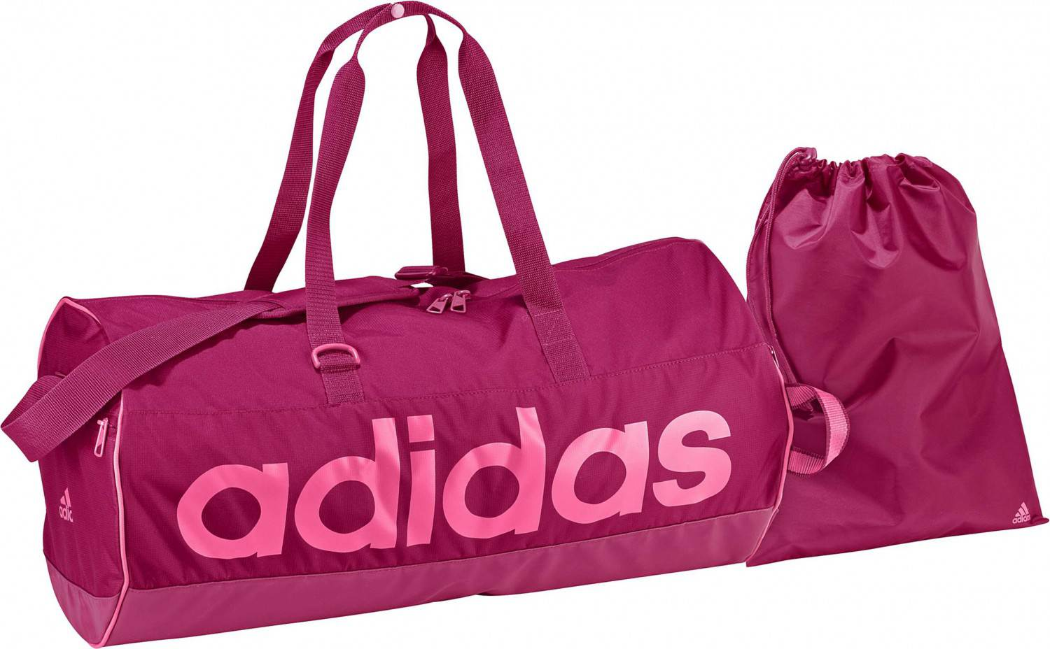adidas Women Linear Essentials Teambag M (Farbe: pink buzz s10/semi solar pink/neon pink/pink buzz s10)