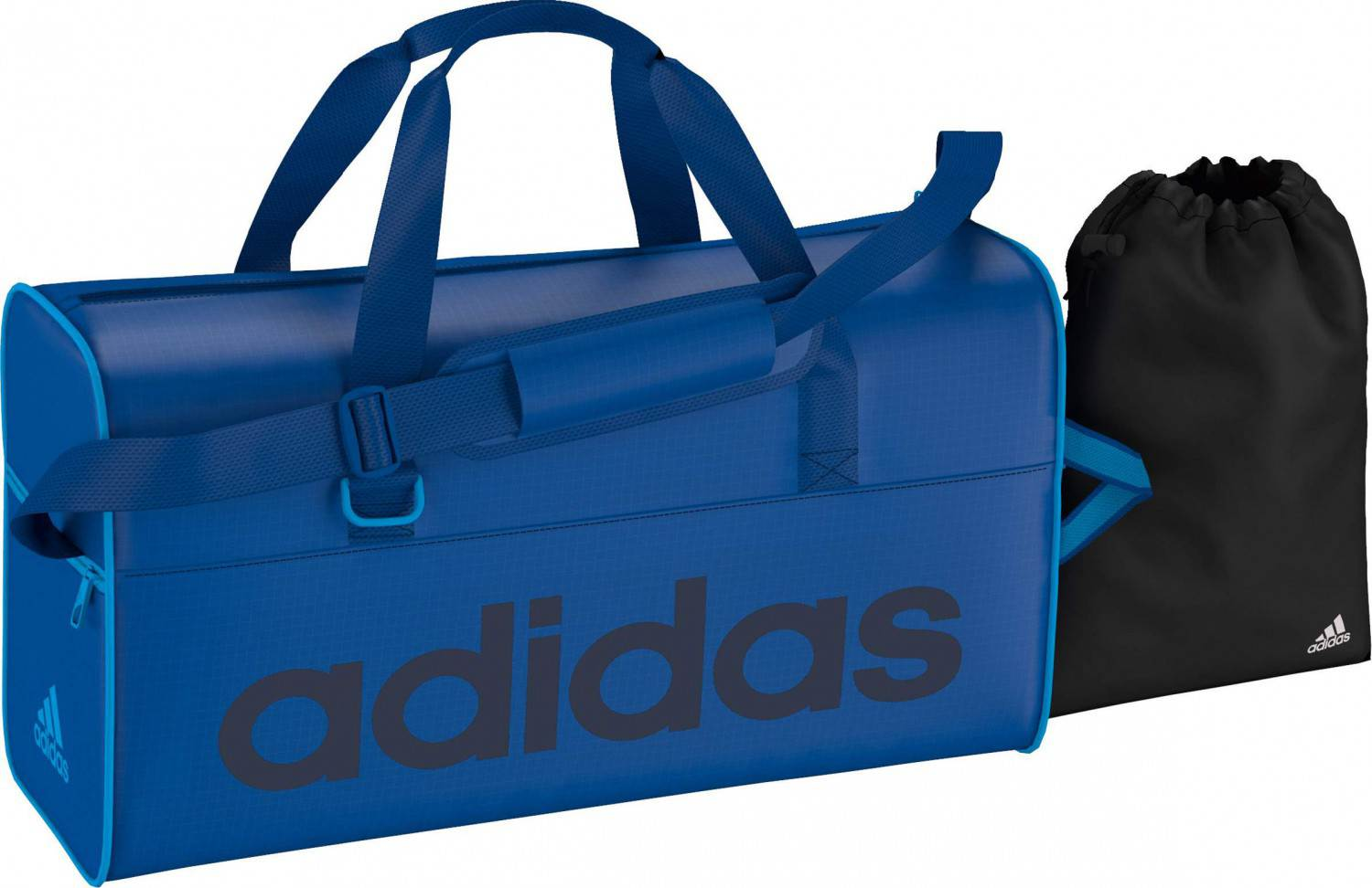 adidas Linear Essentials Teambag M Tasche (Farbe: blue beauty f10/collegiate navy/solar blue2 s14/solar blue2 s14)