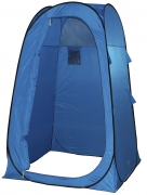 High-Peak Rimini Pop Up Duschzelt (Farbe: blau/schwarz)