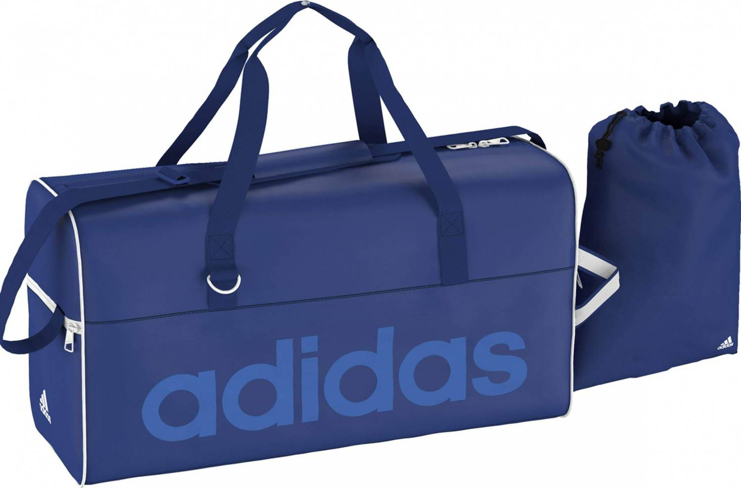 adidas Women Linear Performance Teambag M (Farbe: collegiate royal/bright royal/white)