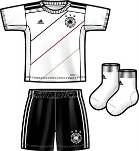 adidas DFB Home Baby Kit (Gr&#246;&#223;e: