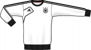 adidas DFB Trikot Sweat Top Youth