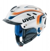 Skihelm Uvex X-Ride Motion Sportstyle (Größe: XS = 53-54 cm, Farbe: 11 white/orange-blue-white)
