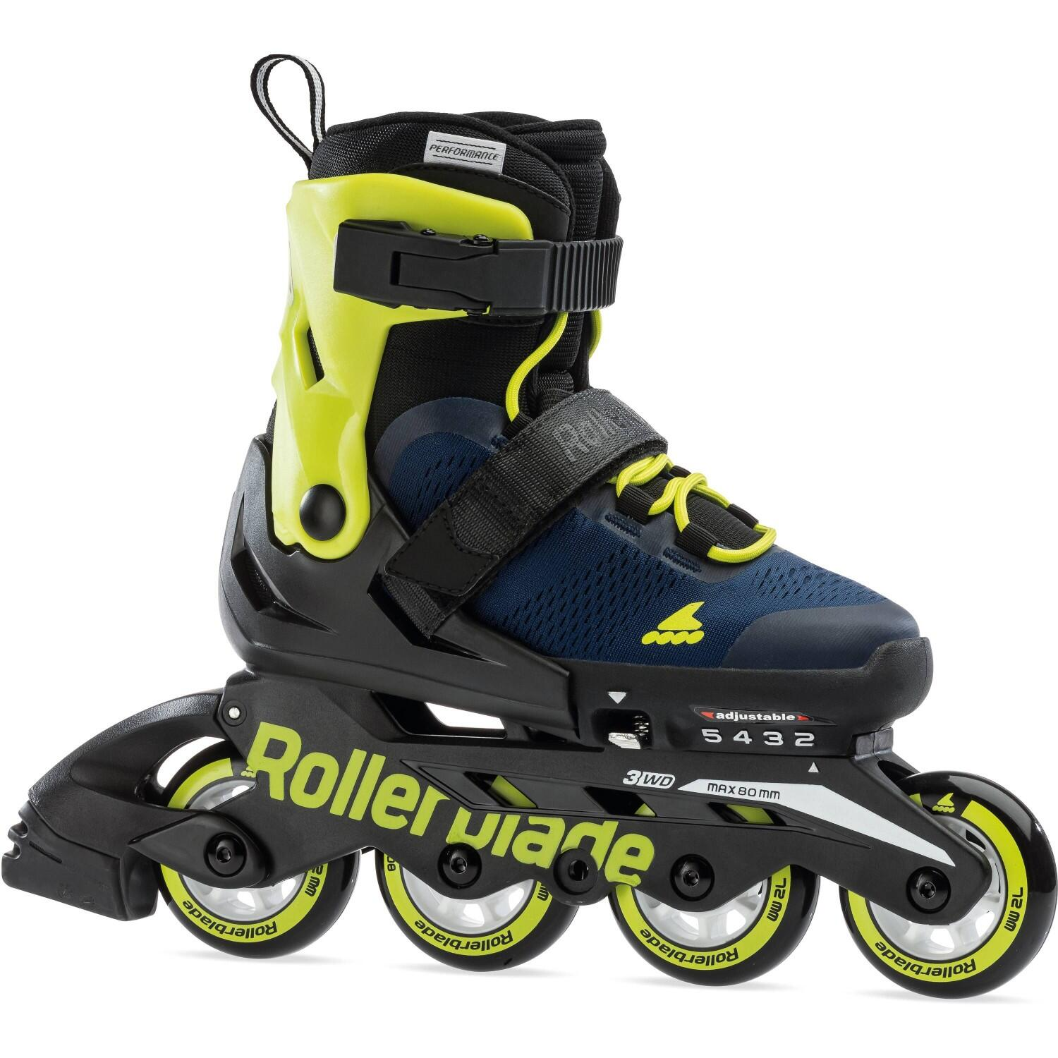 Rollerblade Kinder Inlineskate Arrow SC (Größe 3, Skate 36.5 40.5 blue royal lime)