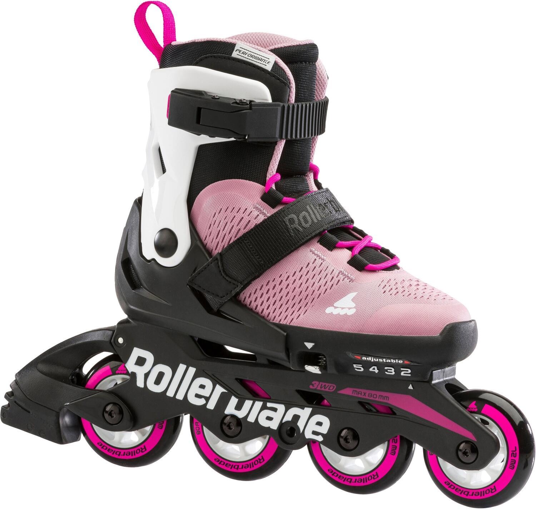 Inliner - Rollerblade Microblade Inlineskate Girl (Größen 36.5 40.5, T93 rosa bianco) - Onlineshop