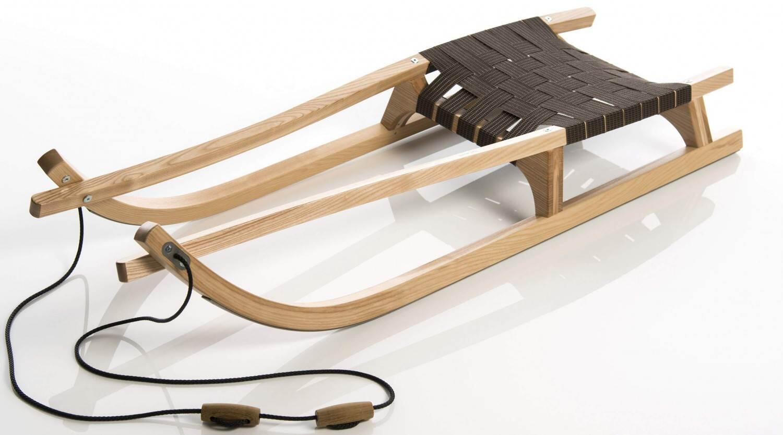 Schlitten - Sirch Esche Rennrodel Abyss R13 mit Gurtsitz (Länge 130 cm, esche lackiert) - Onlineshop