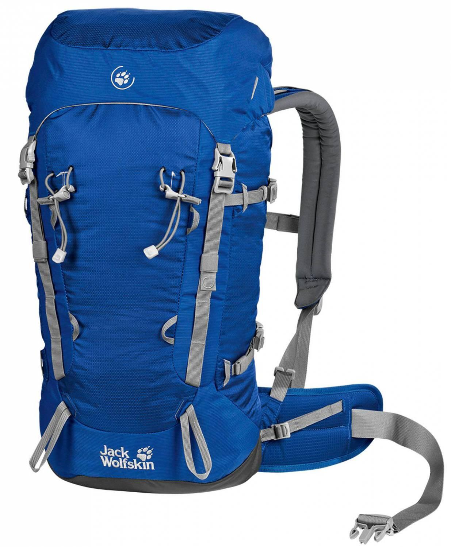 jack-wolfskin-rucksack-mountaineer-32-farbe-1080-active-blue-, 65.00 EUR @ sportolino-de