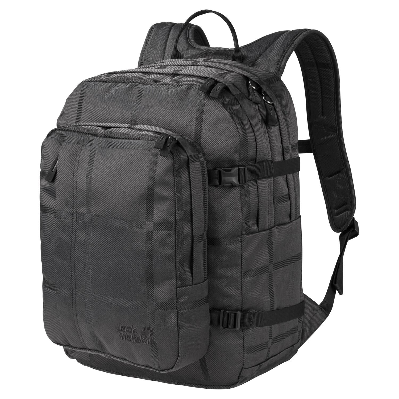 jack-wolfskin-berkeley-y-d-rucksack-farbe-8014-black-big-check-, 49.90 EUR @ sportolino-de
