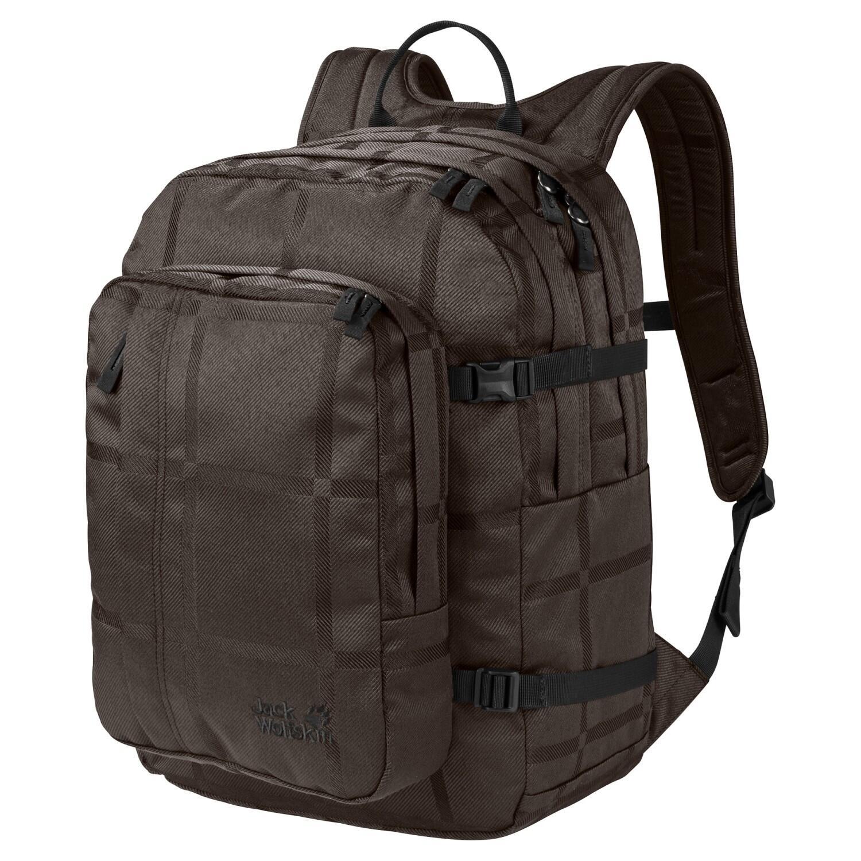 jack-wolfskin-berkeley-y-d-rucksack-farbe-8015-brown-big-check-, 44.90 EUR @ sportolino-de