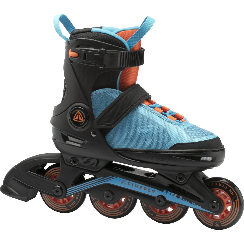 Firefly Kinder Inlineskate 510 Boy (Größe 29.0 32.0 (Rollen 72 mm), 900 blau orange schwarz)