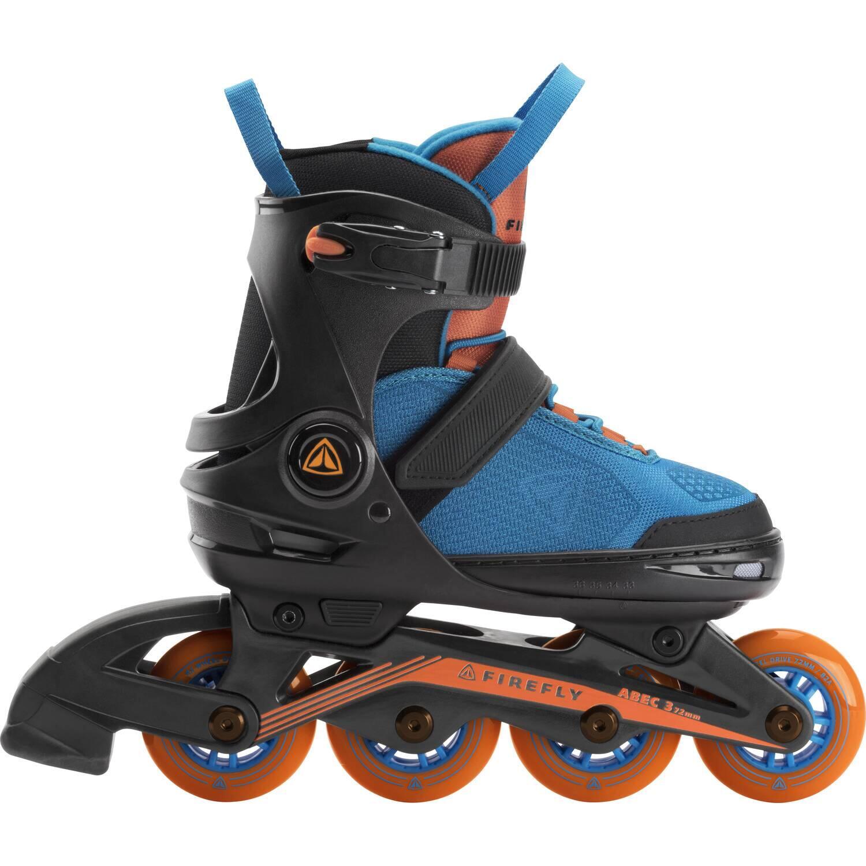Inliner - Firefly Kinder Inlineskate 510 Boy (Größe 37.0 40.0 (Rollen 76 mm), 901 schwarz blau orange) - Onlineshop