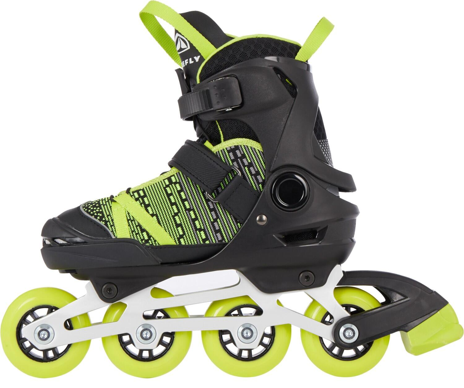 Inliner - Firefly Kinder Inlineskate 710 Boy (Größe 37.0 40.0 (Rollen 76 mm), 900 black green lime) - Onlineshop