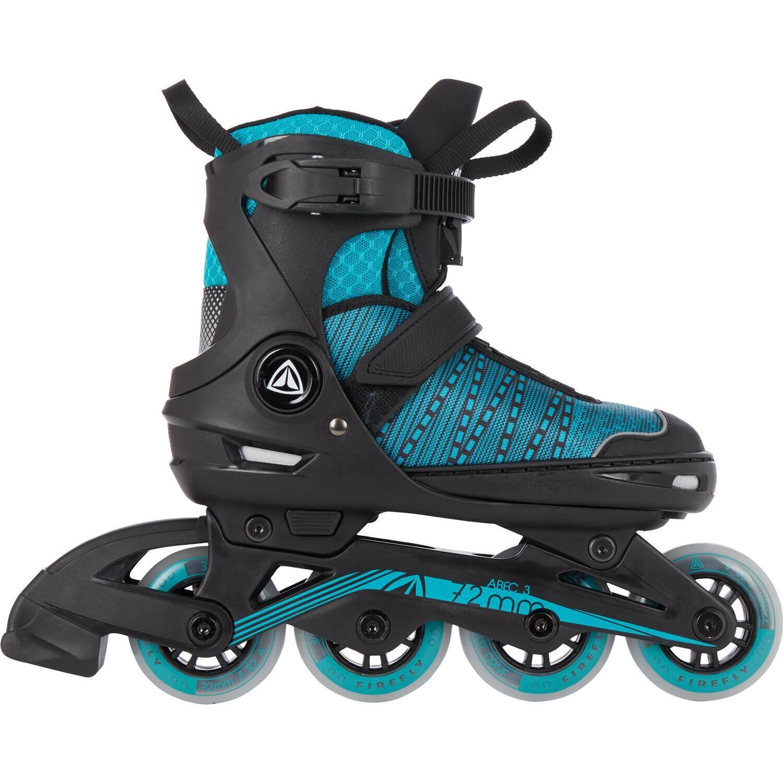Inliner - Firefly Kinder Inlineskate 610 Girl (Größe 29.0 32.0 (Rollen 64 mm), 900 schwarz blau) - Onlineshop