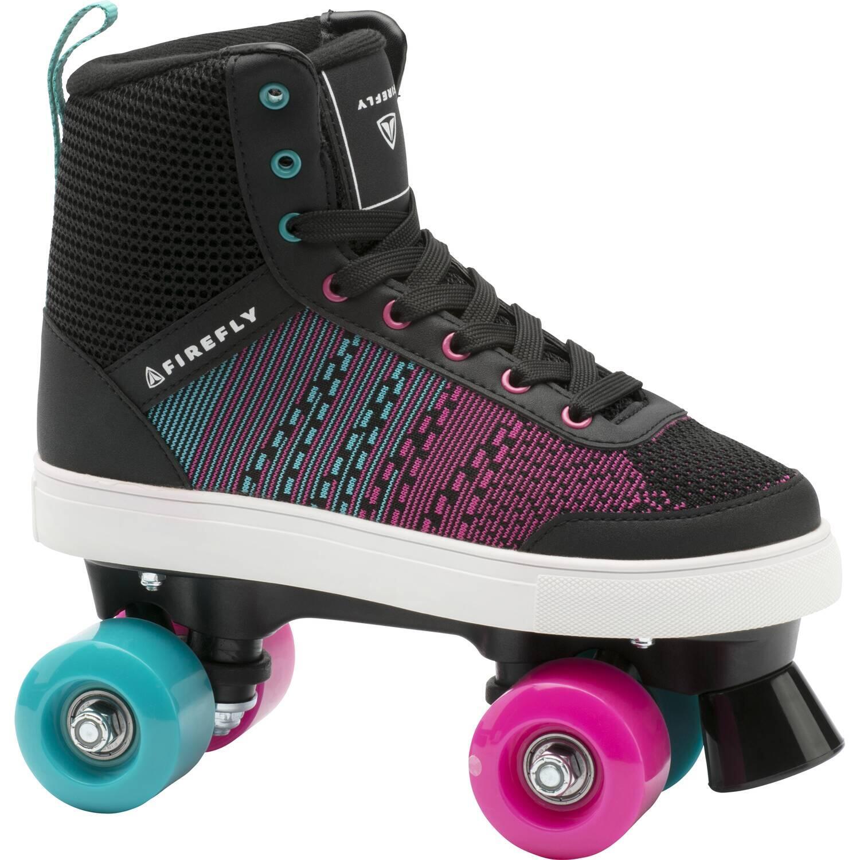 Firefly 510 Rollerskates Kinder (Größe 36.0, 901 black blue pink dark)