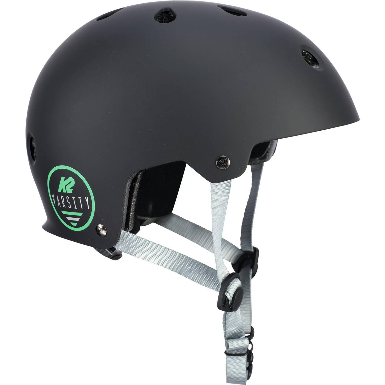 K2 Varsity Skatehelm (Größe: 48-54 cm, black)