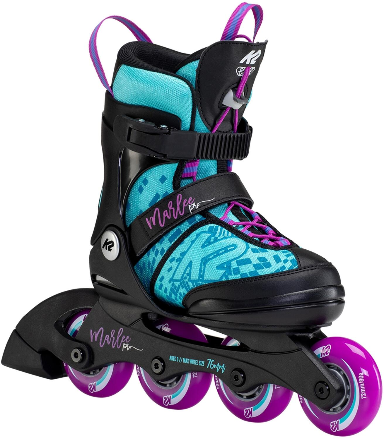 K2 Marlee Pro Inlineskate Girl (Größe 35.0 40.0 (L), light blue purple (72 er Räder))
