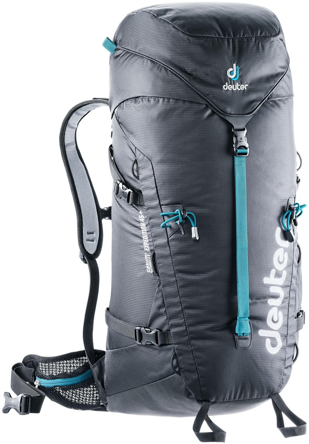 Deuter Gravity Expedition 45 Rucksack (Farbe: 7000 black)