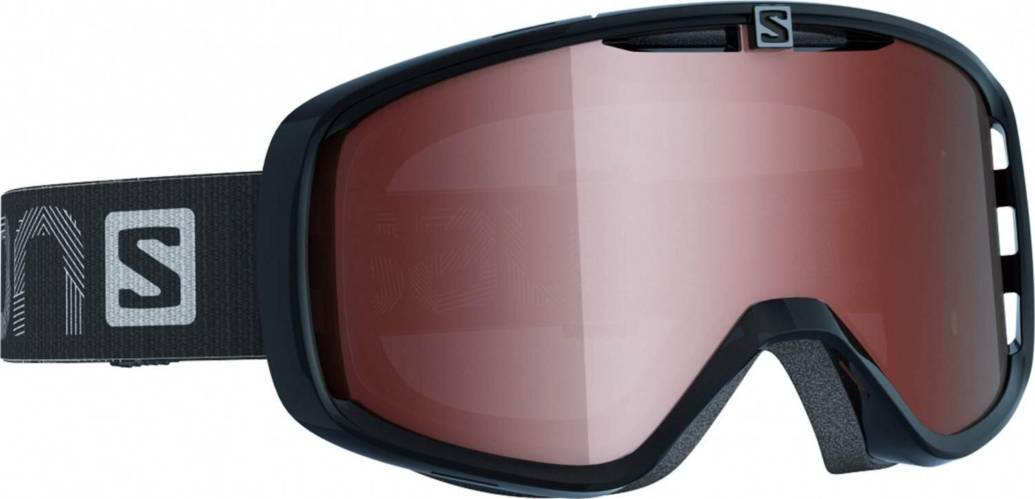 salomon-aksium-access-skibrille-farbe-black-scheibe-tonic-orange-flash-