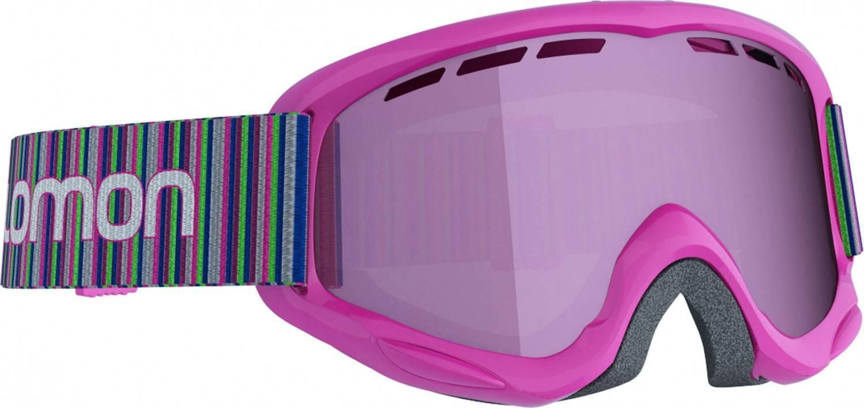 Fürski - Salomon Juke Kinderskibrille (Farbe pink, Scheibe multilayer ruby) - Onlineshop