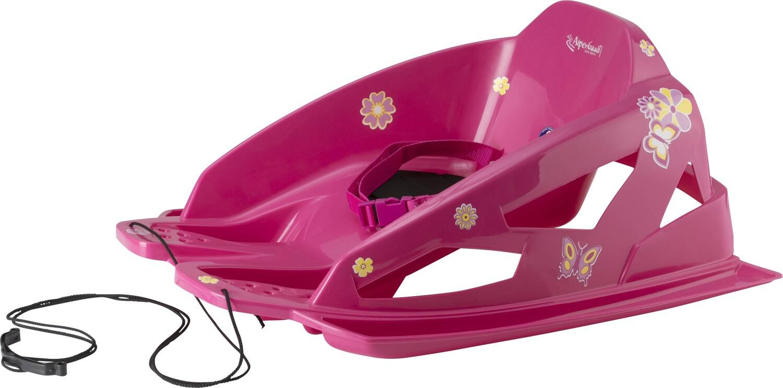 Schlitten - AlpenGaudi Bambino Skibob Kinderrodel (Farbe 101 pink) - Onlineshop