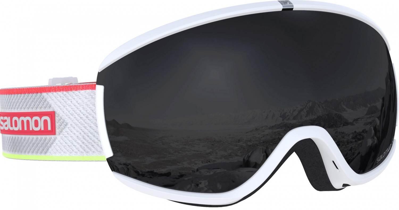 salomon-ivy-skibrille-farbe-white-corail-scheibe-black-