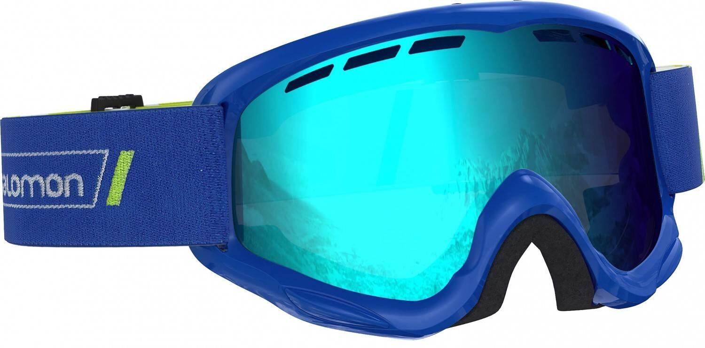 Fürski - Salomon Juke Kinder Skibrille (Farbe race blue, Scheibe multilayer mid blue) - Onlineshop