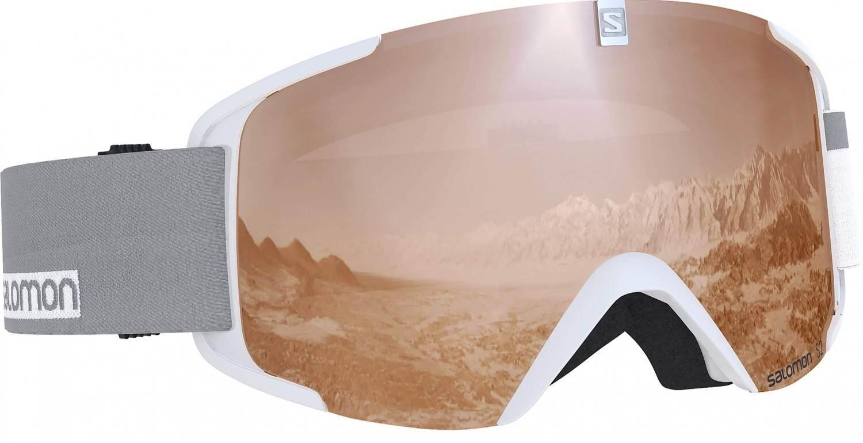 salomon-xview-access-allmountain-skibrille-farbe-white-scheibe-flash-tonic-orange-