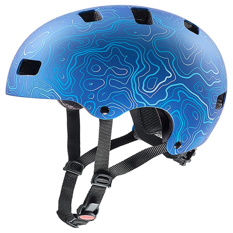 Fürfahrräder - uvex Kid 3 cc Kinder Fahrradhelm (Größe 55 58 cm, 04 blue white) - Onlineshop