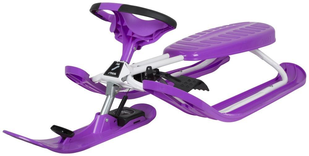 Schlitten - Stiga Snowracer Color Pro (Farbe violett) - Onlineshop