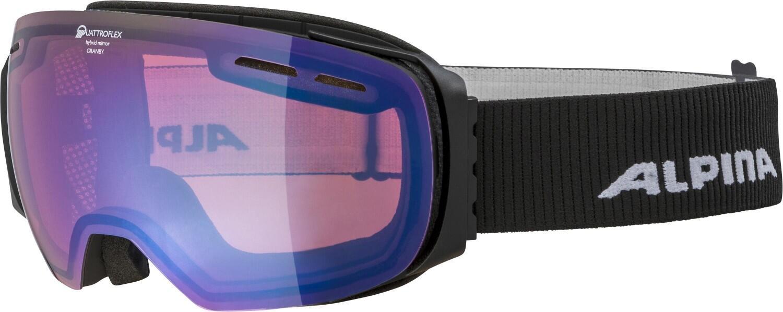 alpina-granby-qm-skibrille-farbe-832-black-matt-scheibe-quattroflex-mirror-blau-s2-
