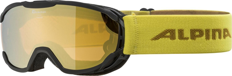 alpina-pheos-junior-mirror-skibrille-farbe-832-black-curry-scheibe-mirror-gold-s2-