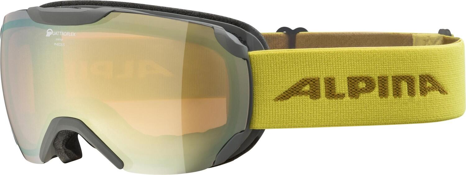 alpina-pheos-small-quattroflex-mm-skibrille-farbe-821-grey-curry-scheibe-quattroflex-mirror-gold