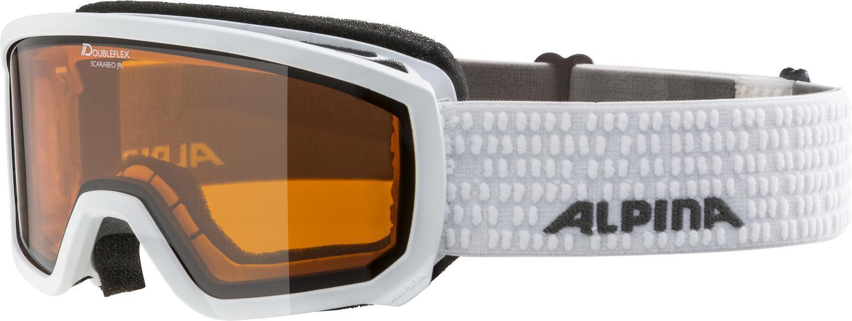 alpina-scarabeo-junior-skibrille-dh-farbe-111-white-scheibe-doubleflex-hicon-s2-