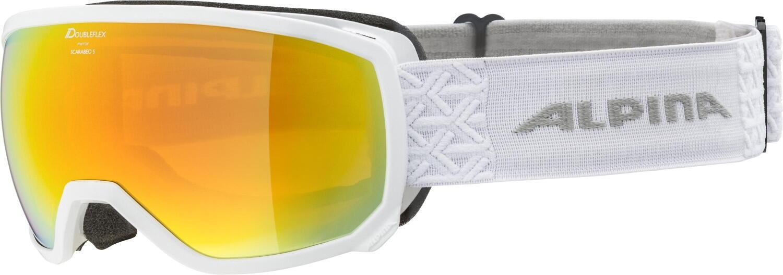 alpina-scarabeo-small-skibrille-hm-sph-auml-risch-farbe-812-white-scheibe-mirror-red-s2-