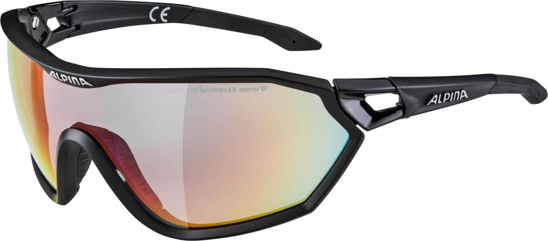 alpina-s-way-l-qvm-sportbrille-farbe-531-black-matt-quattrovarioflex-mirror-scheibe-rainbow-mi