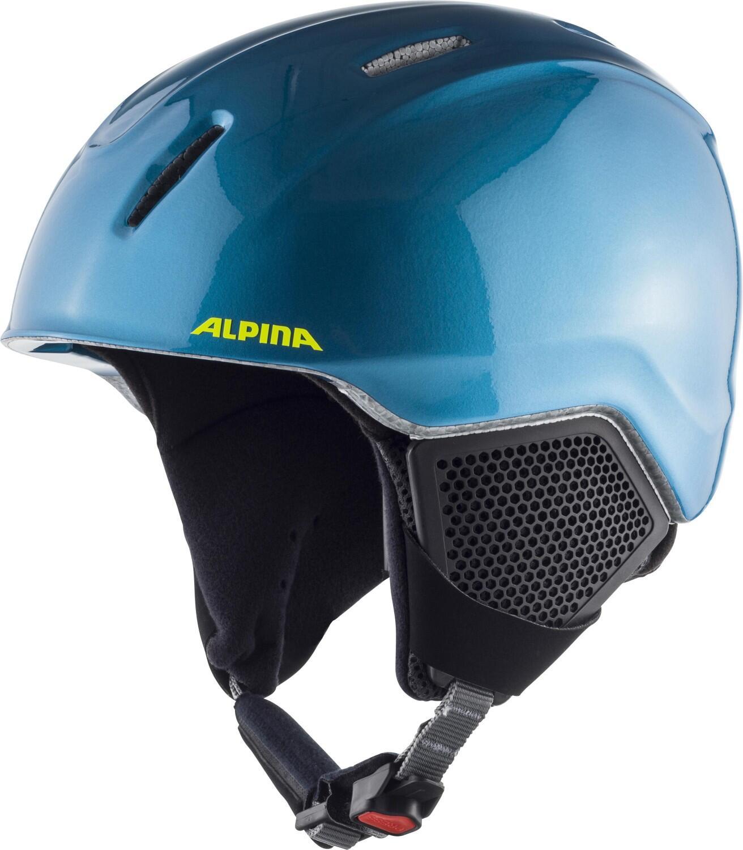 Fürski - Alpina Carat LX Kinderskihelm (Größe 54 58 cm, 83 blue neon yellow) - Onlineshop