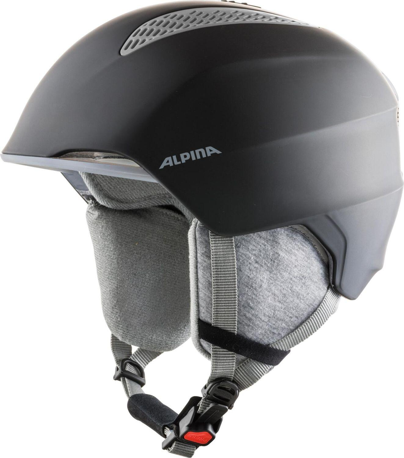 Fürski - Alpina Grand Kinder Skihelm (Größe 54 57 cm, 30 black) - Onlineshop