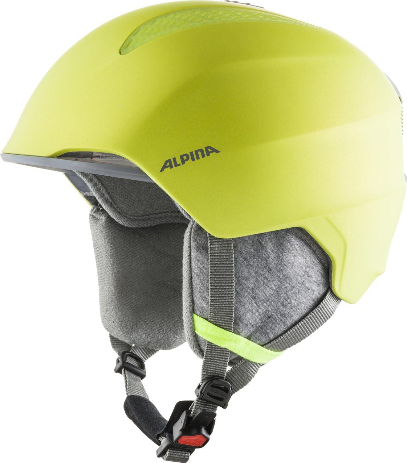 Fürski - Alpina Grand Kinder Skihelm (Größe 51 54 cm, 40 neon yellow) - Onlineshop