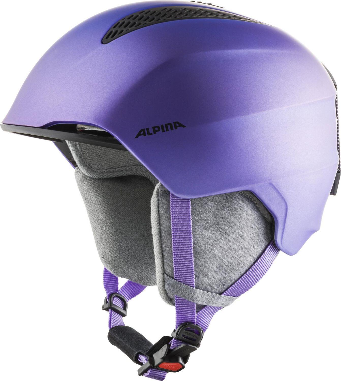 Alpina Grand Kinder Skihelm (Größe 54 57 cm, 50 flip flop purple)