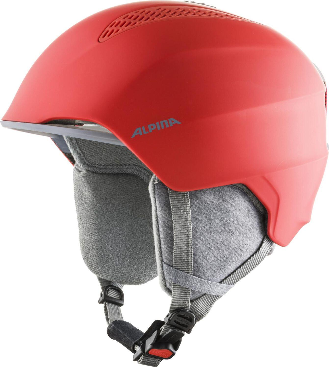 Fürski - Alpina Grand Kinder Skihelm (Größe 51 54 cm, 51 red) - Onlineshop