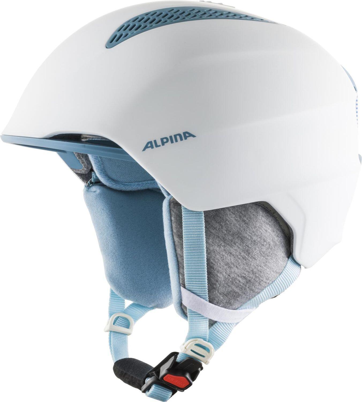 Fürski - Alpina Grand Kinder Skihelm (Größe 54 57 cm, 80 white skyblue) - Onlineshop