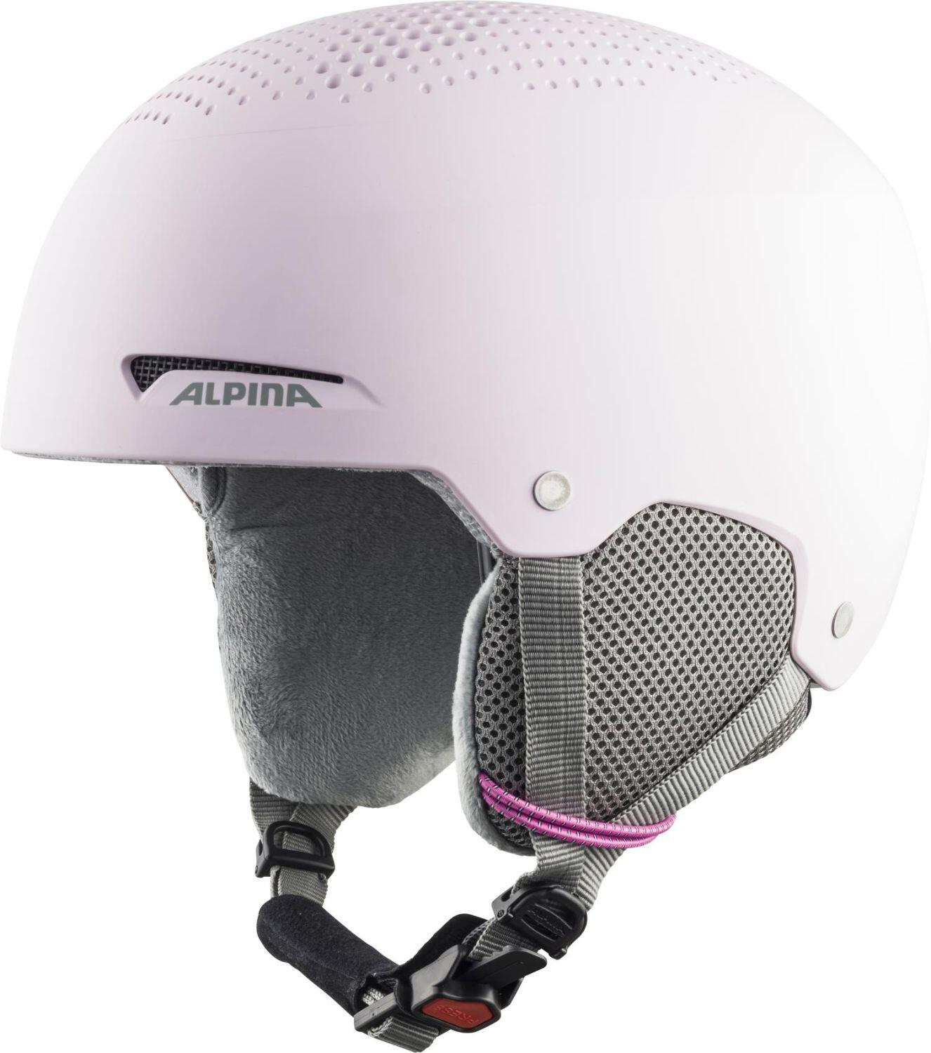 Fürski - Alpina Zupo Kinder Skihelm (Größe 46 48 cm, 60 light rose matt) - Onlineshop