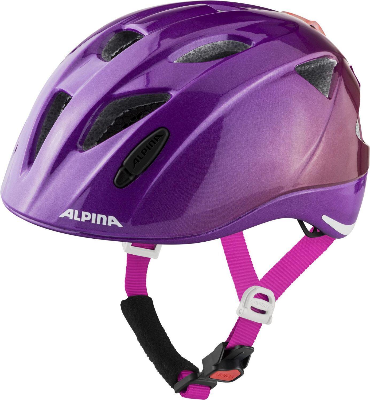 Fürfahrräder - Alpina Ximo Flash Kinderfahrradhelm (Größe 47 51 cm, 55 berry gloss) - Onlineshop