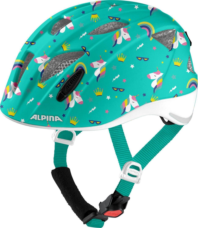 Fürfahrräder - Alpina Ximo Flash Kinderfahrradhelm (Größe 49 54 cm, 56 unicorn gloss) - Onlineshop