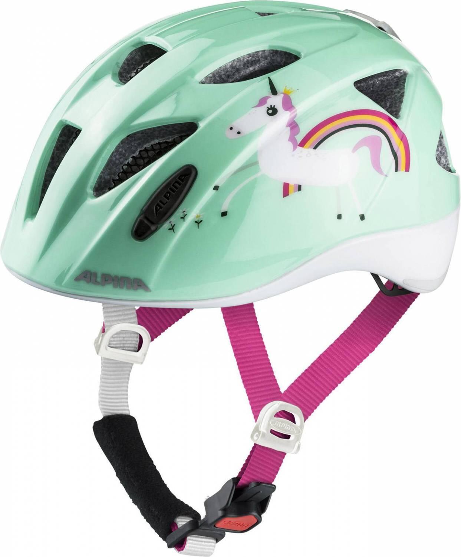 Fürfahrräder - Alpina Ximo Flash Kinderfahrradhelm (Größe 47 51 cm, 83 mint unicorn) - Onlineshop